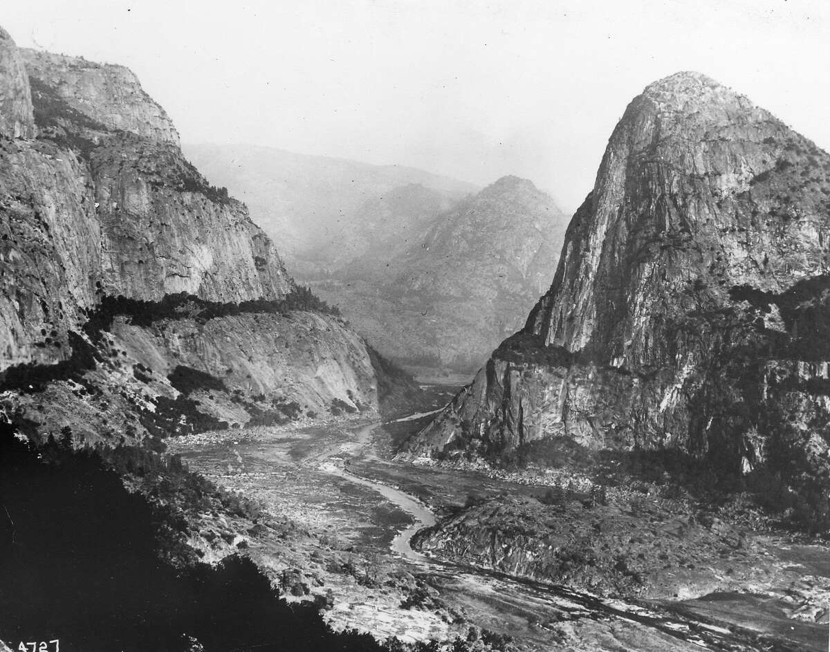 Hetch Hetchy valley before reservoir was created by O'Shaugnessy Dam, September 20, 1917 Handout photo courtesy of San Francisco Public Utilities Commission