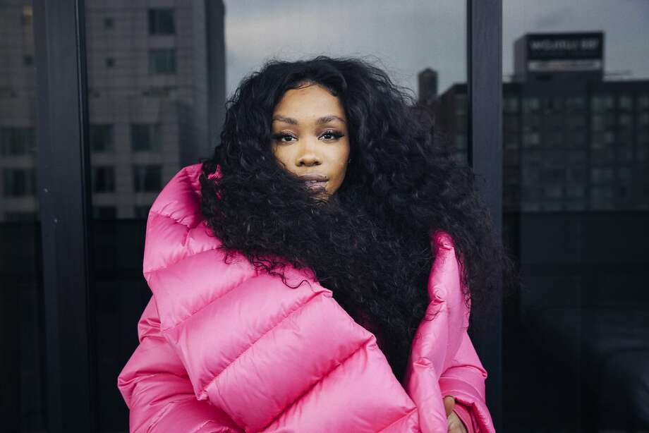 "SZA is nominated for five Grammy Awards for her debut album, ""Ctrl,"" which includes two platinum singles. Photo: Victoria Will, Associated Press"