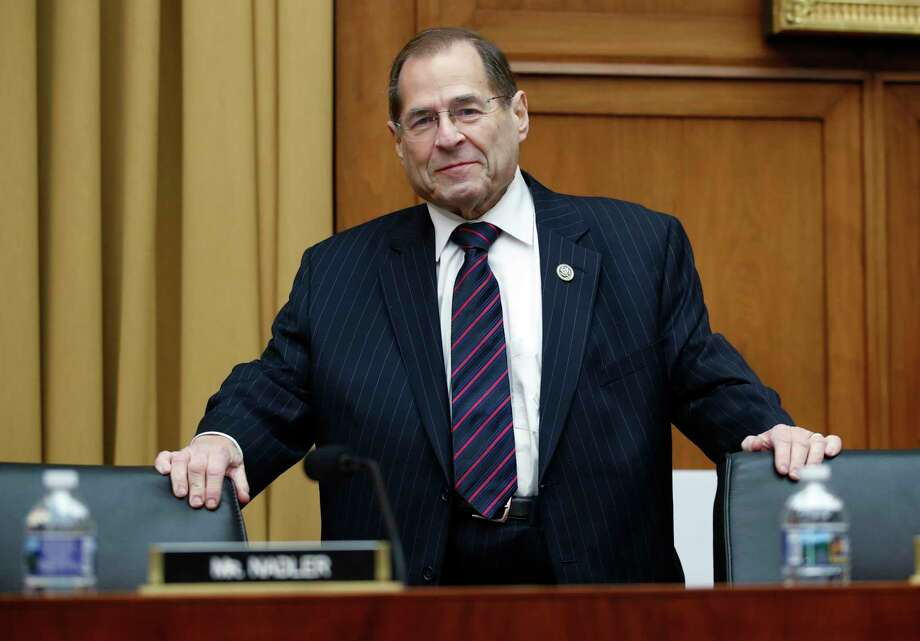 House Judiciary Committee ranking member Rep. Jerrold Nadler, D-N.Y., arrives for a House Judiciary hearing on Capitol Hill in Washington, Thursday, Dec. 7, 2017, on oversight of the Federal Bureau of Investigation. (AP Photo/Carolyn Kaster) ORG XMIT: DCCK115 Photo: Carolyn Kaster / Copyright 2017 The Associated Press. All rights reserved.