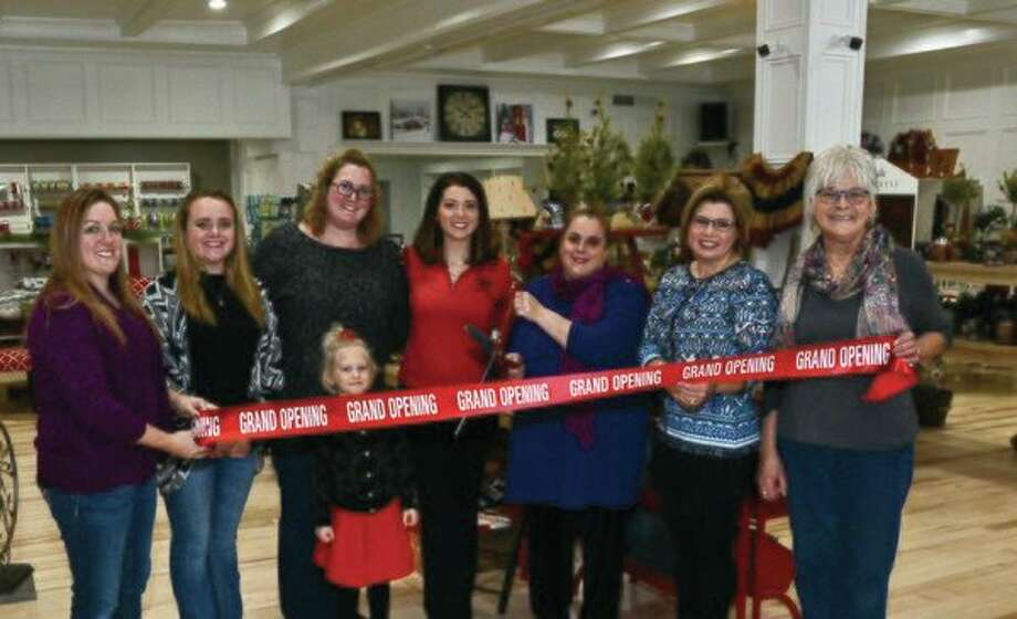 The Marlette Area Chamber of Commerce recently welcomed Maggie & Red's, LLC to downtown Marlette. Maggie & Red's opened in late 2017 and is located within the former Victorian Expressions building at 3031 Main St. The owner, Meg Guzman, is an entrepreneur from the Marlette Area and owns the gift and home décor store Maggie's on Main, formerly called Sweet Maggie Blue, which is located across the street from her new store. The building housing Maggie & Red's was completely renovated inside and out and features antiques, handmade items, made in Michigan products, and country home décor. Maggie & Red's can be contacted by phone at 989-635-3939 or you can follow her business page on Facebook for upcoming sales and specials. (Submitted photo)