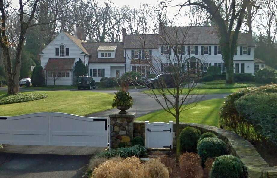 """Morning Joe"" Scarborough's house in New Canaan is on the market. The asking price for the 7,826-square foot house on Wahackme Road is $3,690,000. Scarborough bought the house in 2011. Photo: Goggle Street View Image"