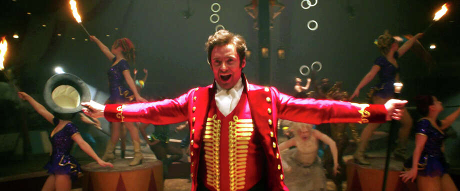 "Hugh Jackman stars as P.T. Barnum in ""The Greatest Showman,"" a musical with songs by Oscar-winning songwriters Benj Pasek and Justin Paul of ""La La Land."" Photo: 20th Century Fox / Connecticut Post Contributed"