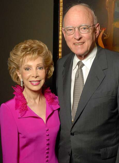 Dr. William Butler and Margaret Williams at the Baylor College of Medicine DeBakey Heart Center gala kick-off party at the Hotel ZaZa. Butler passed away Sept. 22, 2017. He was 85. Photo: Dave Rossman/For The Chronicle