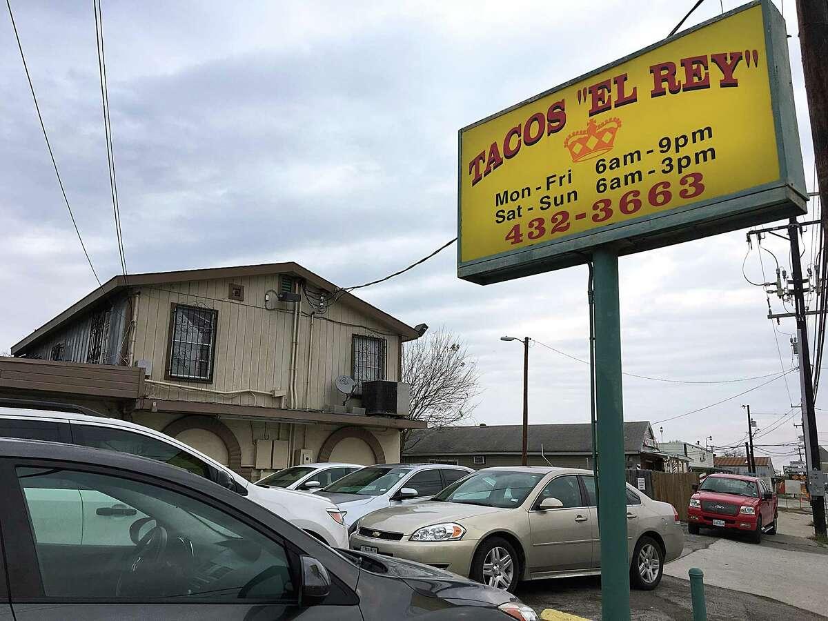 Tacos El Rey on Castroville Road.