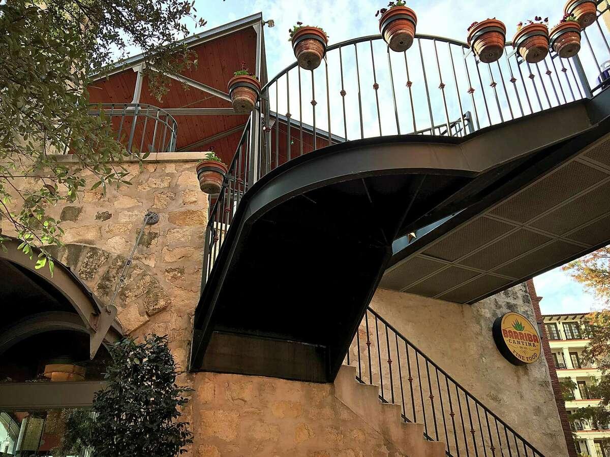 Barriba Cantina on West Crockett Street along the River Walk in San Antonio.
