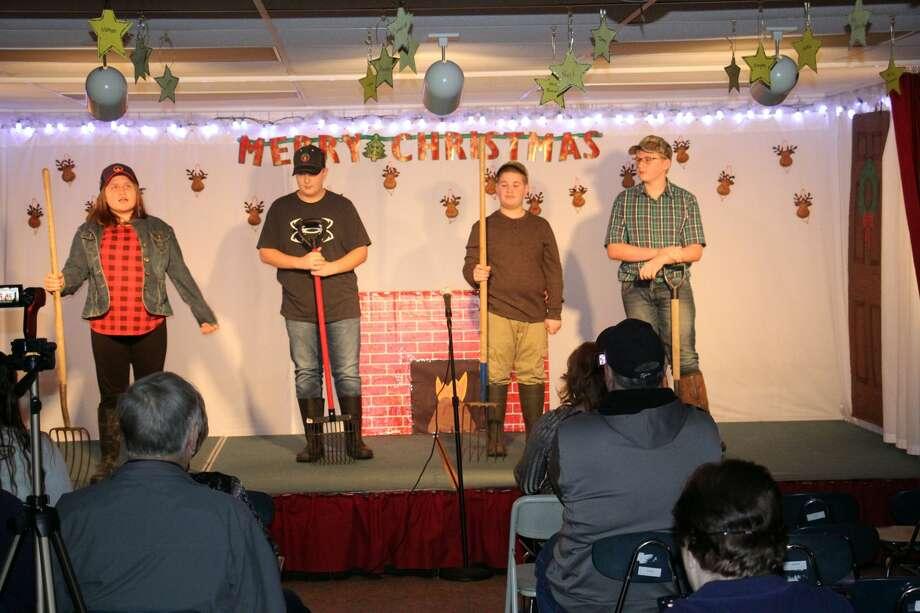 Verona Mills celebrates Christmas. Photo: Seth Stapleton/Huron Daily Tribune