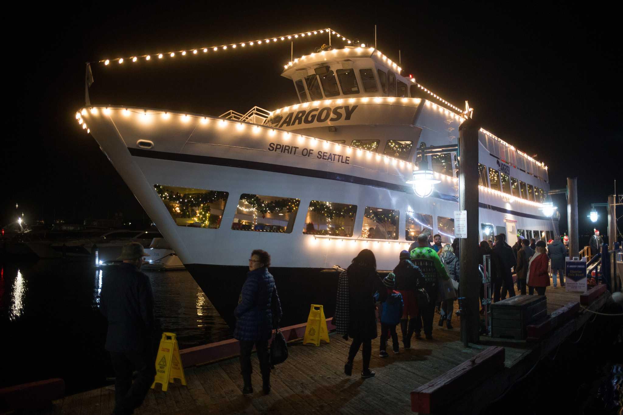 Christmas Ships Seattle 2021 Argosy Cruises Suspends Service Until 2021 Cancels Christmas Ship Festival