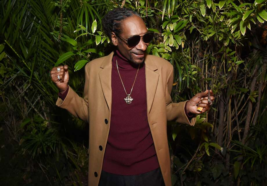Snoop Dogg's Bay Area shows are often special, including local guests. Photo: Michael Kovac, Getty Images For GQ