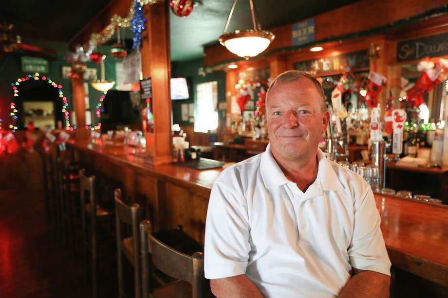 Declan Plunkett, owner of The Harp on Richmond, will leave the bar business after 35 years in February 2018 when The Harp closes for good.See more photos from inside one of Houston's favorite watering holes... Photo: Steve Gonzales, Houston Chronicle / © 2017 Houston Chronicle