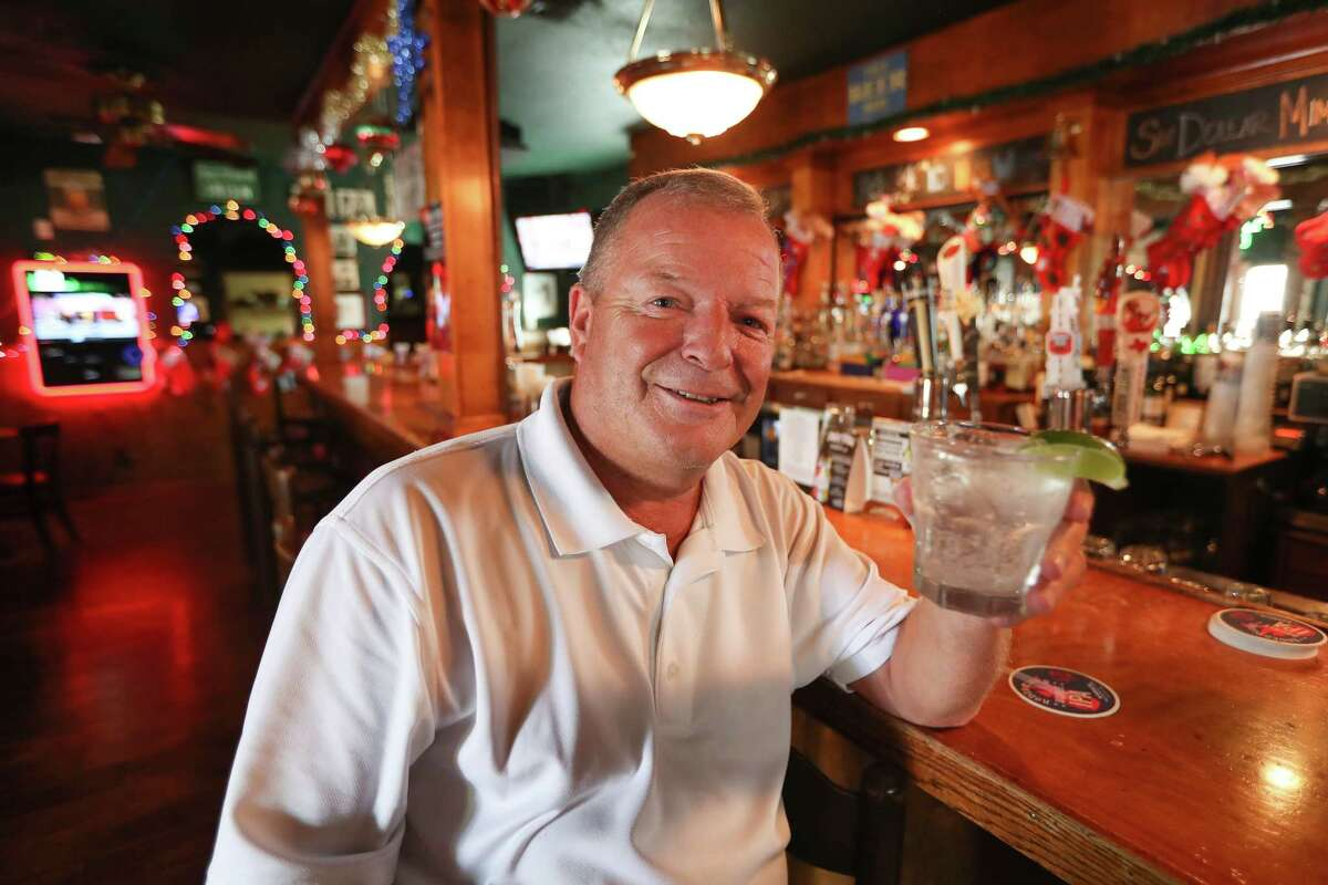 Declan Plunkett, owner of The Harp on Richmond, is photographed Wednesday, Dec. 20, 2017, in Houston. The bar will close after last call Wednesday and reopen under new management within a few weeks. See more photos from inside one of Houston's favorite haunts...
