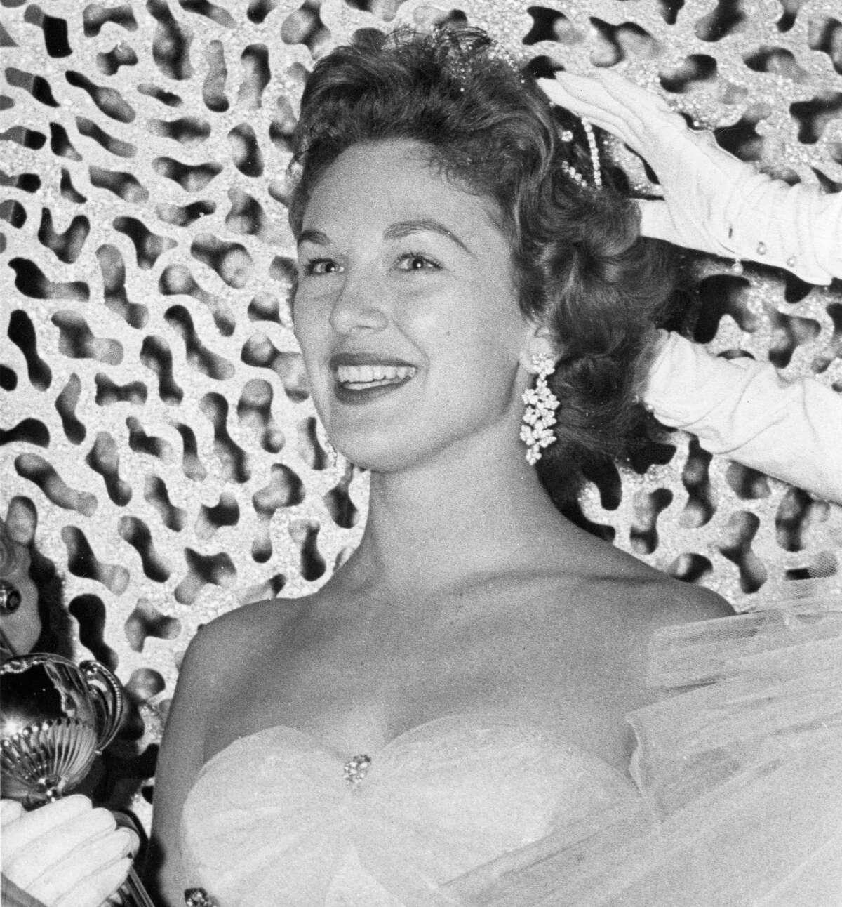 Miss Houston Gaylynn Baker, June 1957.
