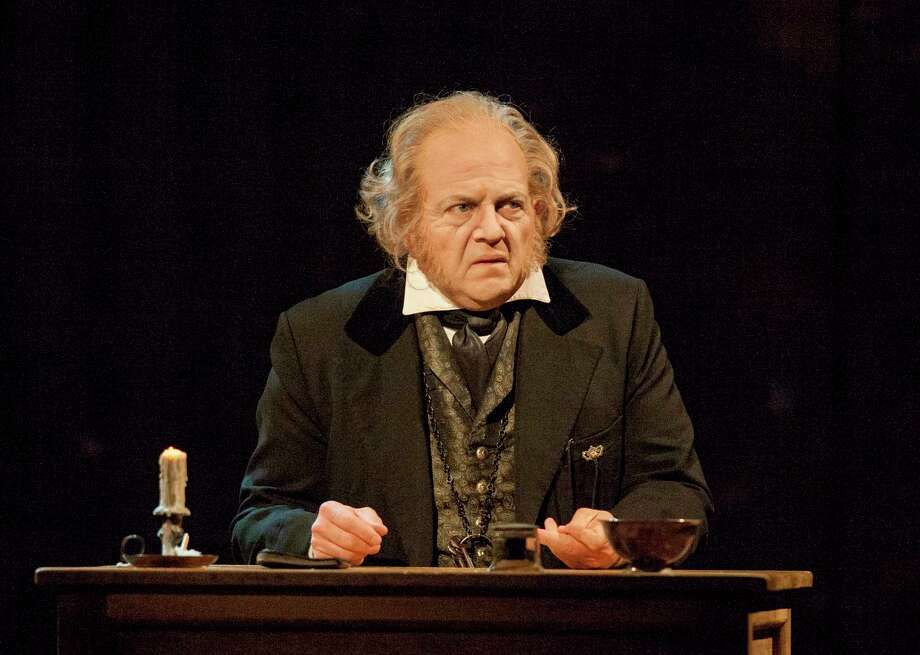 "Jeffrey Bean has portrayed Ebenezer Scrooge in the Alley Theatre's ""A Christmas Carol"" for ten years. Photo: Photo By John Everett / John Everett"