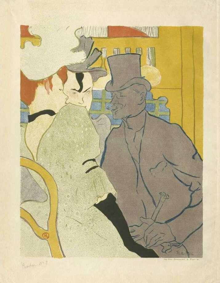 """Henri de Toulouse-Lautrec """"1892"""", color lithograph on paper"""