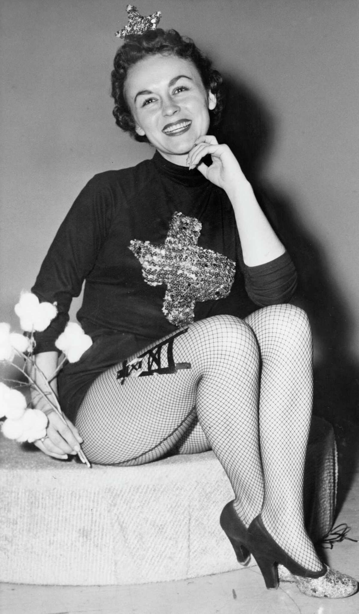 Sue Carroll Brugier, Miss Typical Texan, March 12, 1956.