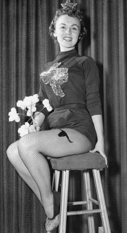 Sue Carroll Brugier (Verheyden), Miss Typical Texan, March 12, 1956. Photo: Unknown, Houston Post