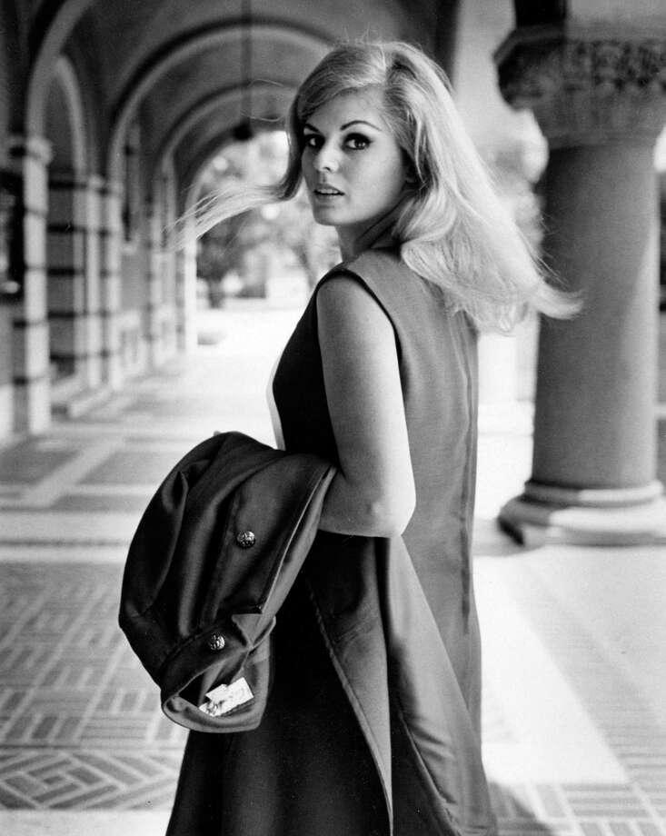 Bonnie Robinson (Assad), Miss Houston 1967, at Rice University, May 1967. Photo: Unknown, Houston Post
