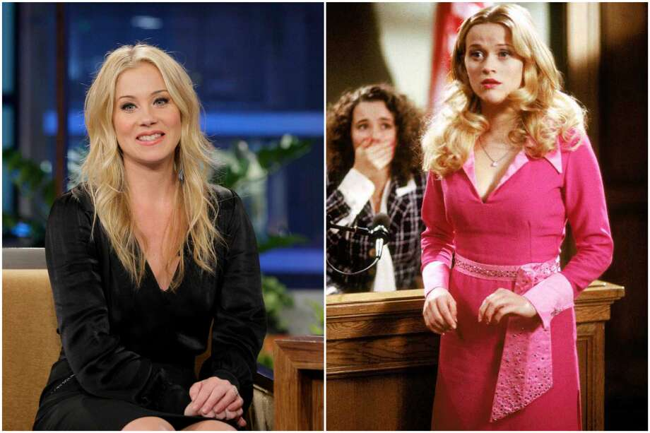 """During the 2015 premiere of """"Vacation,"""" Christina Applegate revealed she had received the script of """"Legally Blonde"""" but turned it down because she was hesitant to play """"another ditzy blonde."""" Reese Witherspoon won the part instead. Photo: File/Houston Chronicle"""