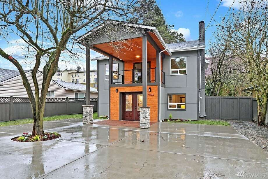 9526 Palatine Ave. N. is listed for $899,500. The four bedroom, 2¾ bathroom home spans more than 2,100 square feet. Photo: Listing Courtesy Seung Baik, Caliber Real Estate/Photos By Vista Estate Imaging