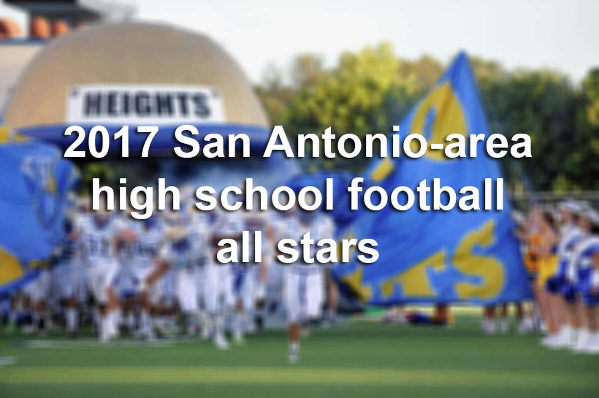 Click ahead to see the standout players for San Antonio-area high school football teams in the 2017 season.