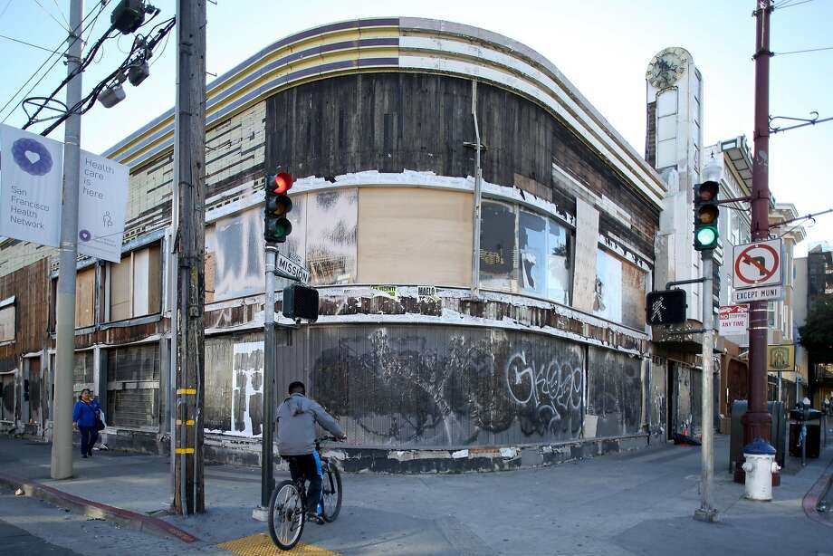 A nonprofit has bought 2205 Mission St., a 1919 building with a succession of owners in recent years. Photo: Elizabeth Hafalia, The Chronicle