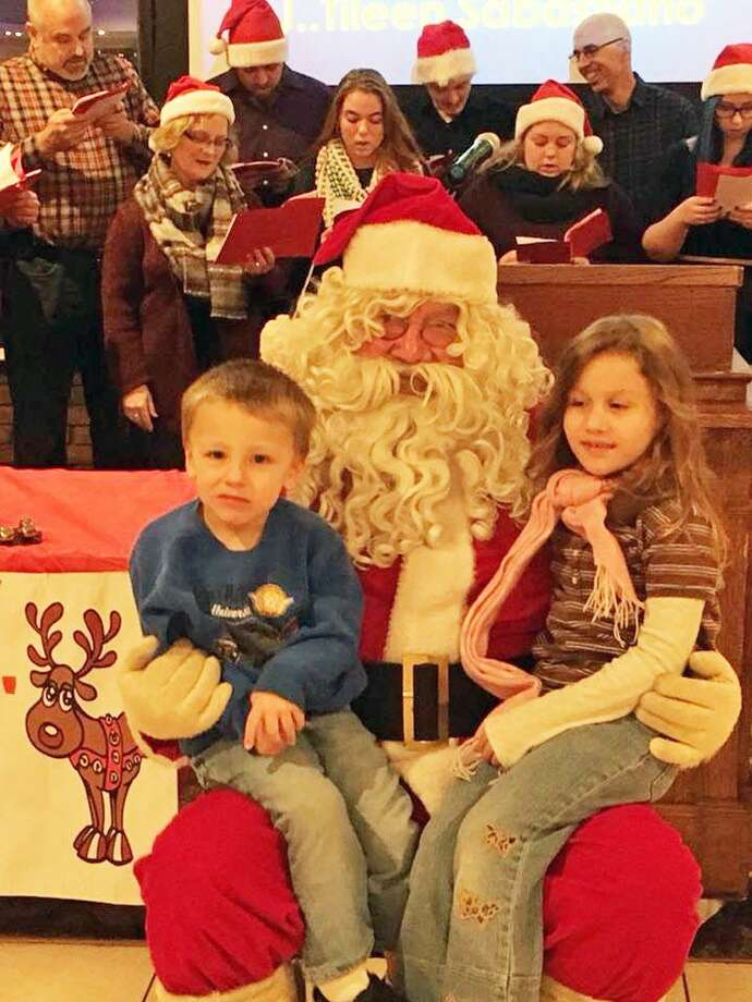 Begun by Middletown Police Officer Rob Siena 20 years ago, the South Fire District IAFF Local 3918 and Middletown Elks Lodge 771 Adopt-A-Family event assists families in need during the holiday season. Photo: Courtesy Middletown Elks