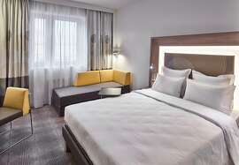 New Hotel complex in Moscow; double bed room