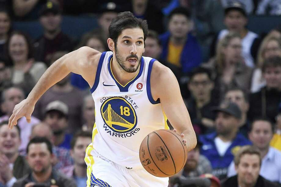 OAKLAND, CA - DECEMBER 11:  Omri Casspi #18 of the Golden State Warriors dribbles the ball up court against the Portland Trail Blazers during an NBA basketball game at ORACLE Arena on December 11, 2017 in Oakland, California. NOTE TO USER: User expressly acknowledges and agrees that, by downloading and or using this photograph, User is consenting to the terms and conditions of the Getty Images License Agreement.  (Photo by Thearon W. Henderson/Getty Images) Photo: Thearon W. Henderson / Getty Images / 2017 Thearon W. Henderson