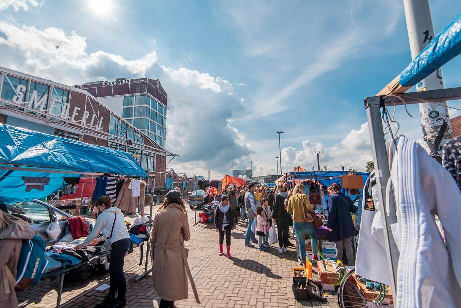 The NDSM area was a shipping yard and warehouse district that is now thriving with 400 artists, architects and designers. Photo: Koen Smilde Photography, I Amsterdam