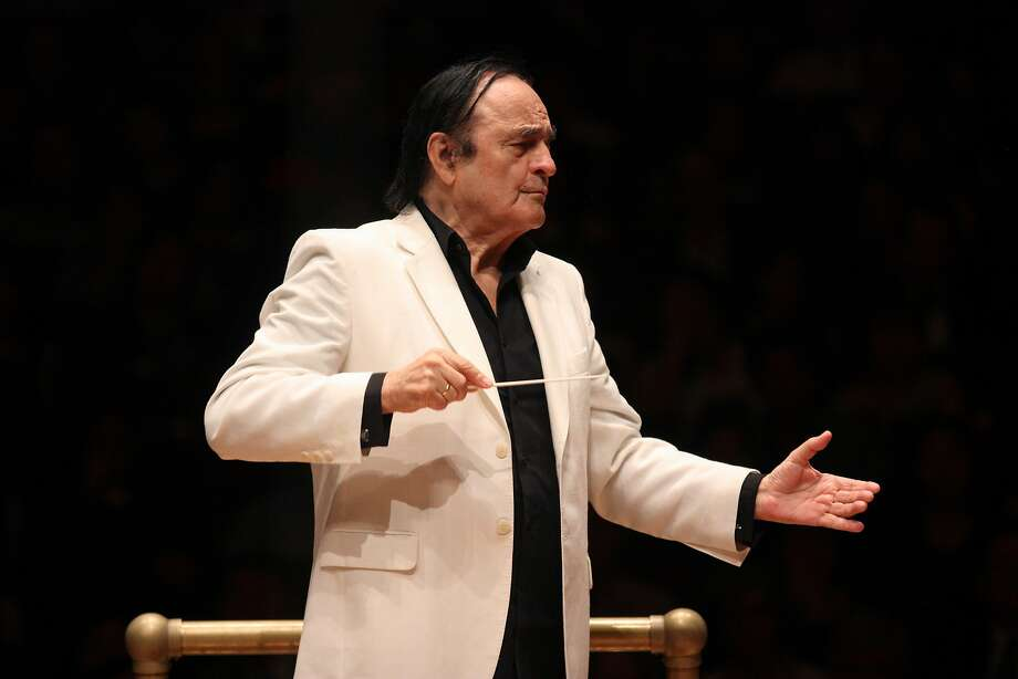 Charles Dutoit leads the National Youth Orchestra of the United States of America at Carnegie Hall in 2015. Photo: Getty Images