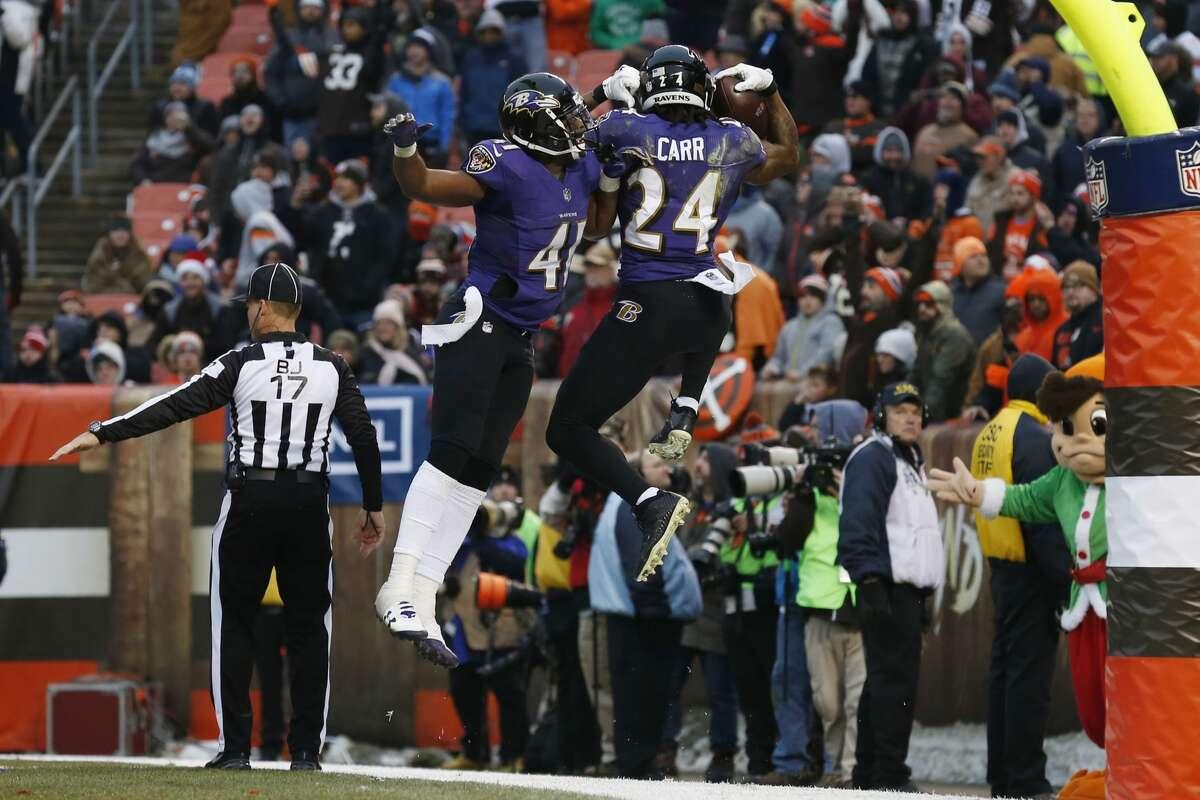 Indianapolis plus-13 ½ at Baltimore Ravens 31-16