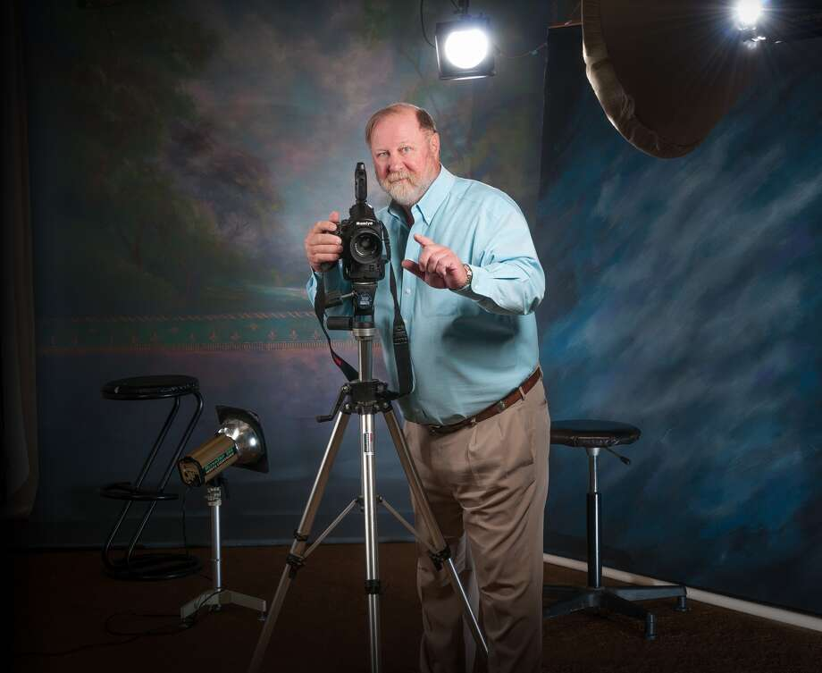After 40 years, there is no place that Don Dickson would rather be than behind a camera, capturing those special moments in the lives of Plainview citizens. Photo: Chris Hanoch