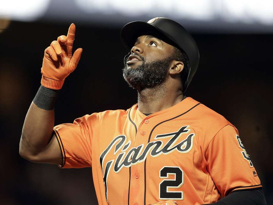 Denard Span said he hopes to return to the Giants as a player or a coach. Photo: Ben Margot, Associated Press