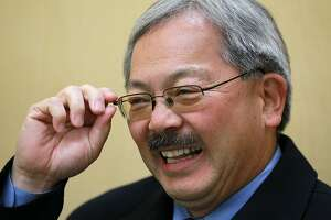 SAN FRANCISCO, CA - NOVEMBER 08:  (FILE PHOTO) San Francisco mayor Ed Lee smiles as he campaigns in Chinatown on November 8, 2011 in San Francisco, California.  Candidates for San Francisco mayor are making one last push to encourage people to vote as San Franciscans head to the polls to vote for a new mayor, district attorney and sheriff.  (Photo by Justin Sullivan/Getty Images)