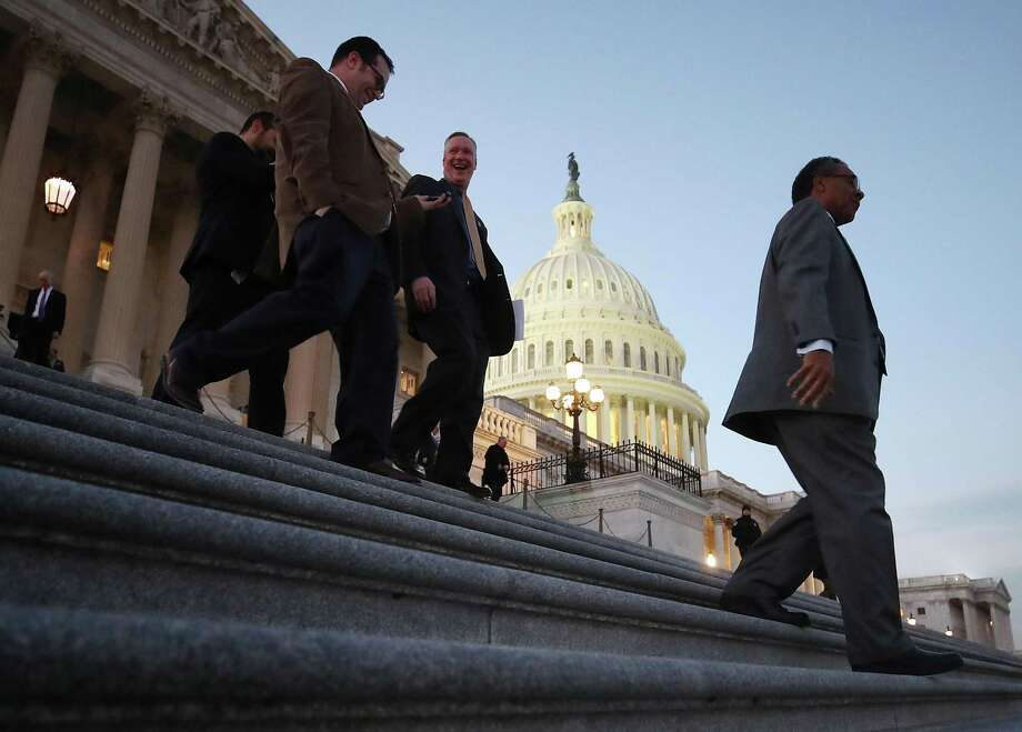 Members of the House of Representatives leave for Christmas break. Photo: Mark Wilson / Getty Images / 2017 Getty Images