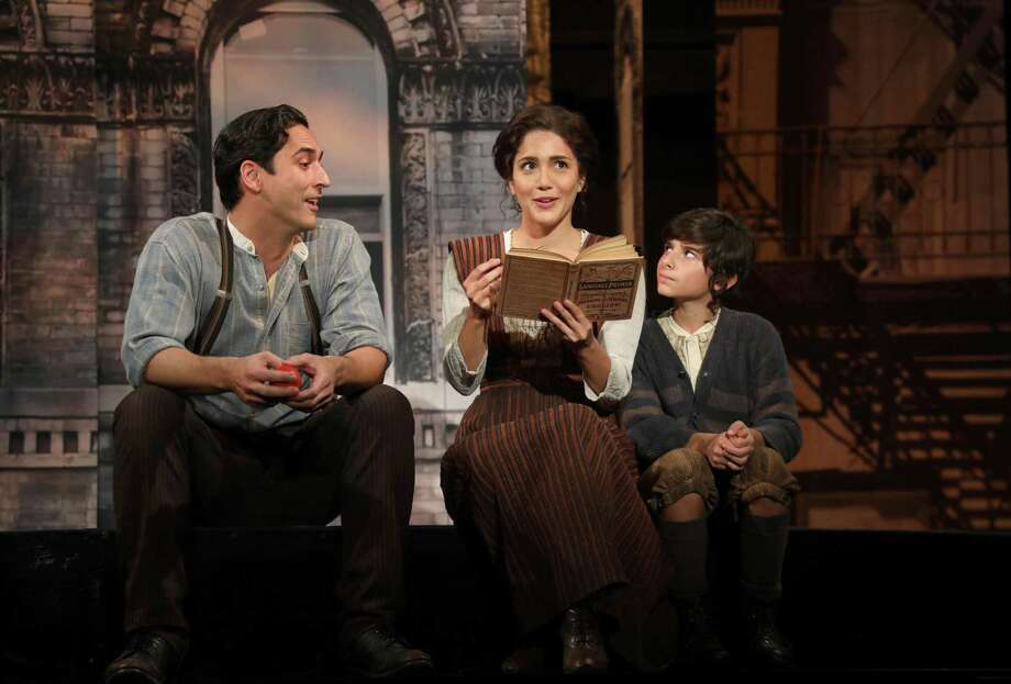 """Goodspeed revived the show """"Rags"""" this fall, starring Sean MacLaughlin (Sal), Samantha Massell (Rebecca) and Christian Michael Camporin (David). Photo: Diane Sobolewski / Goodspeed / ©2017 Diane Sobolewski"""