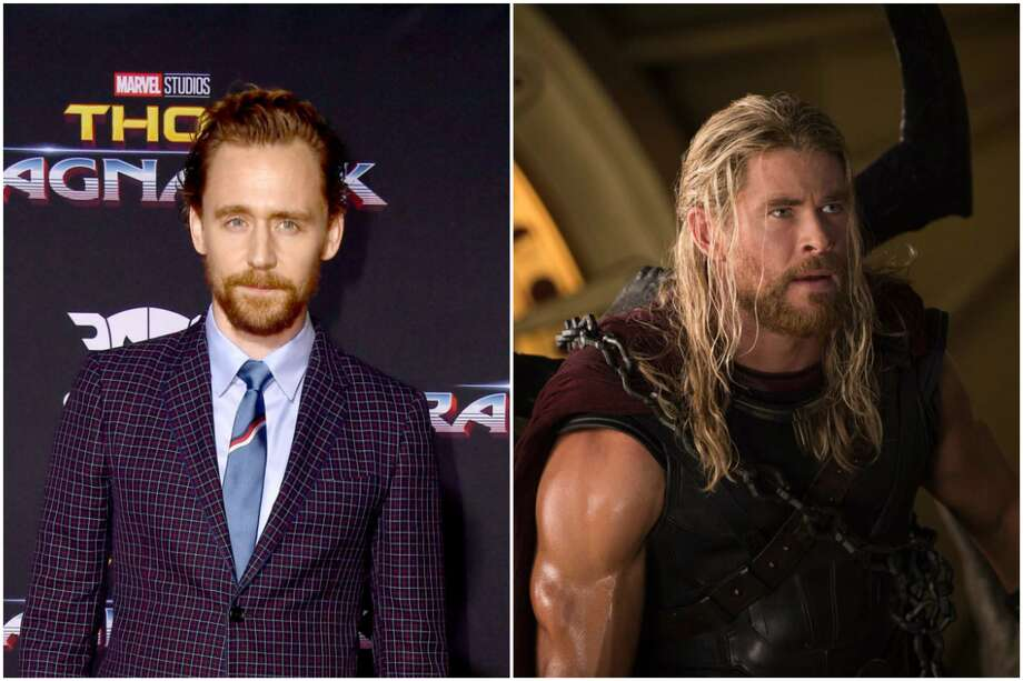 "In 2014, Marvel teased Tom Hiddleston's audition tape for Thor in, well, ""Thor."" Hiddleston would later get the role of Loki and Chris Hemsworth landed Thor. Photo: File/Houston Chronicle"