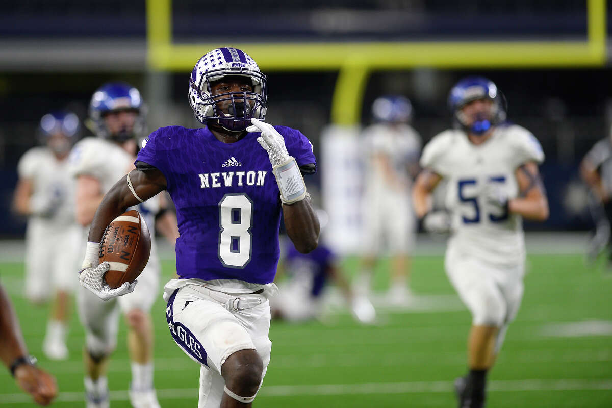 Tamauzia Brown School: Newton Year: Senior Notes: Brown had 502 receiving yards and nine touchdowns in the regular season despite playing on both sides of the ball.