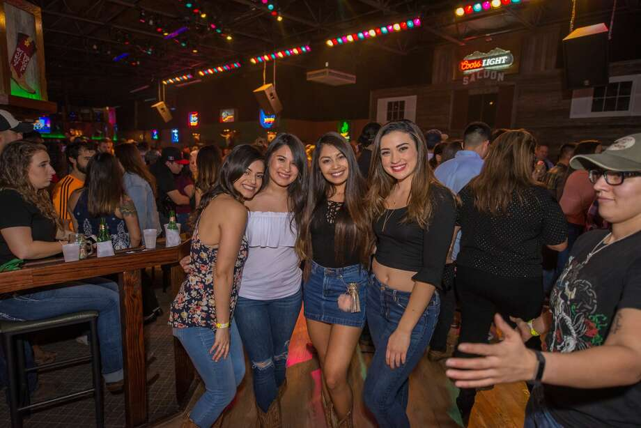 Not even Santa played nice Dec. 21, 2017, at Wild West's annual Bad Santa Party. The San Antonio dance hall put a holiday spin on its weekly dance party with a visit from Santa. The winner of the weekly Daisy Dukes contest received $400. Photo: Kody Melton, For MySA.com