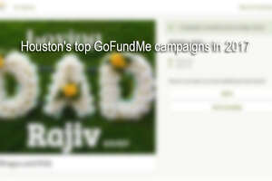 Swipe through to see the top GoFundMe campaigns in Houston in 2017.