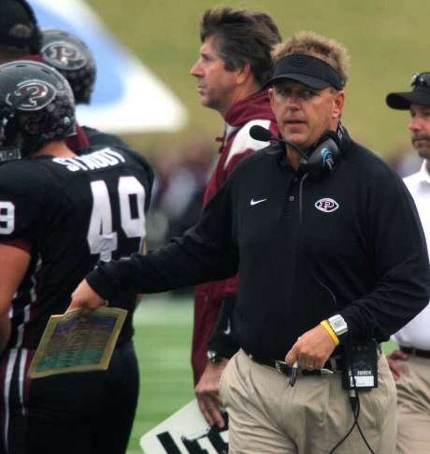 Pearland's longtime head football coach, Tony Heath, left to become business development manager for a company.