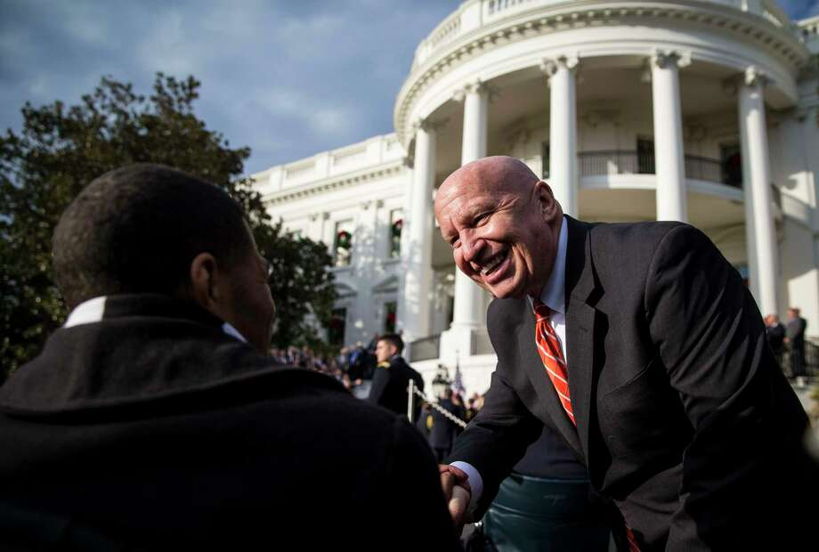Rep. Kevin Brady (R-Texas) during an event marking the passage of the Republican tax bill at the White House in Washington, Dec. 20, 2017. The House, forced to vote a second time on the $1.5 trillion tax bill, moved swiftly to pass the final version on Wednesday, clearing the way for President Trump to sign into law the most sweeping tax overhaul in decades. (Al Drago/The New York Times) Photo: AL DRAGO, STR / NYTNS