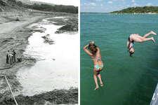 Vintage photos show what lies underneath Canyon Lake.