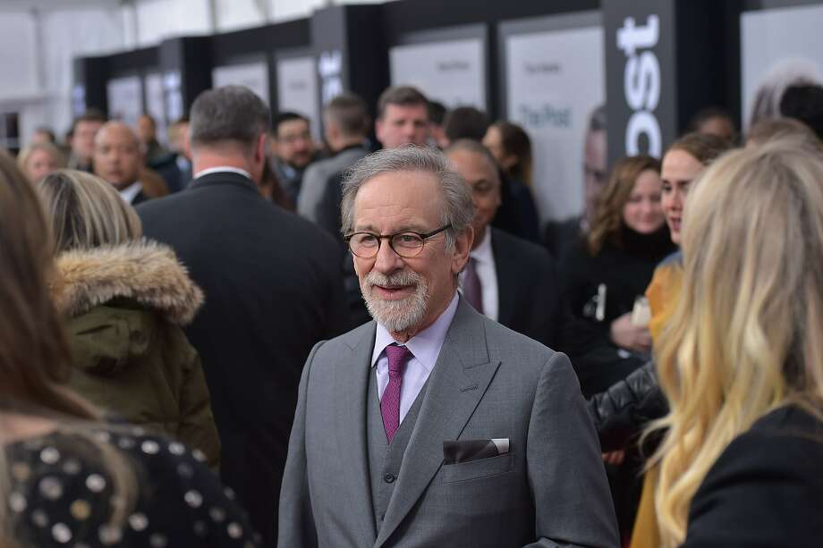 "Steven Spielberg arrives for the premiere of ""The Post"" in Washington, D.C. on Dec. 14. Photo: MANDEL NGAN, AFP/Getty Images"