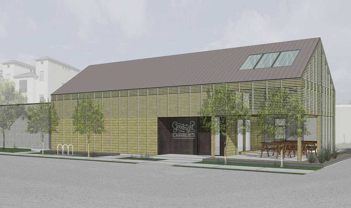 Rendering of Goodnight Charlie's, a new Houston honky tonk in the Montrose neighborhood opening Dec. 22.