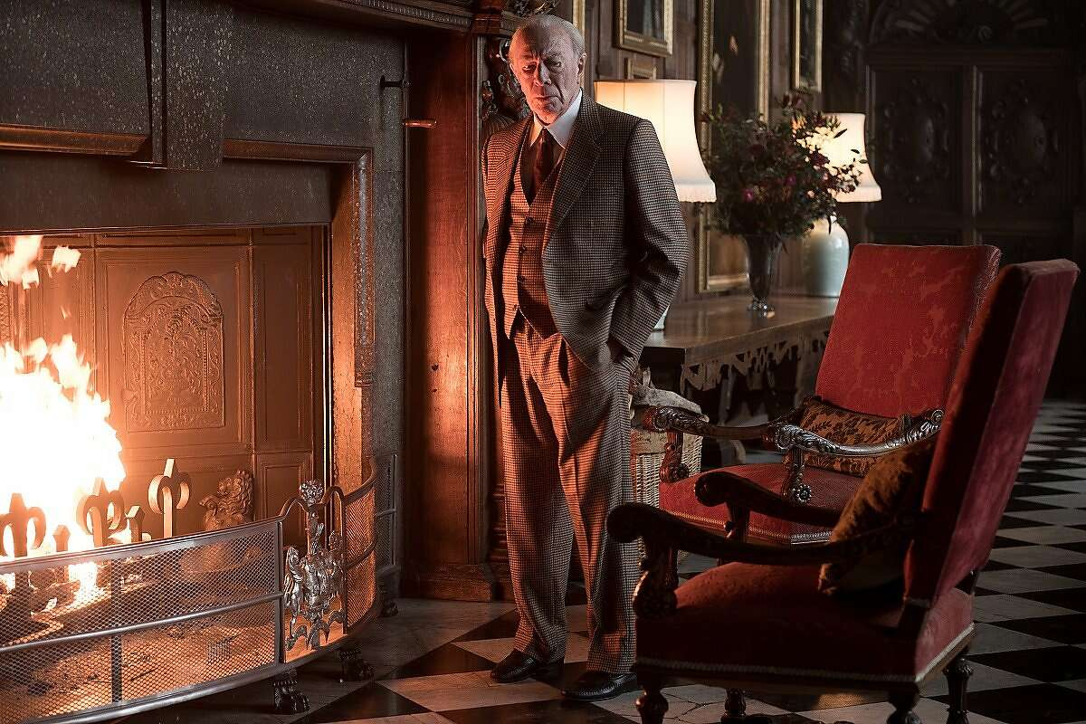 """Christopher Plummer as John Paul Getty in """"All the Money in the World."""" Photo: Giles Keyte"""