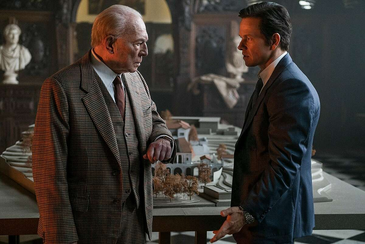 """Christopher Plummer (left) and Mark Wahlberg (right) star in """"All the Money in the World."""" Photo: Giles Keyte"""