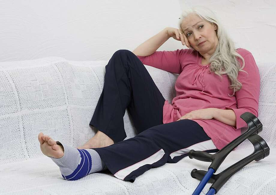 A broken ankle kept a woman from taking a trip to Europe. Photo: Westend61, Getty Images/Westend61