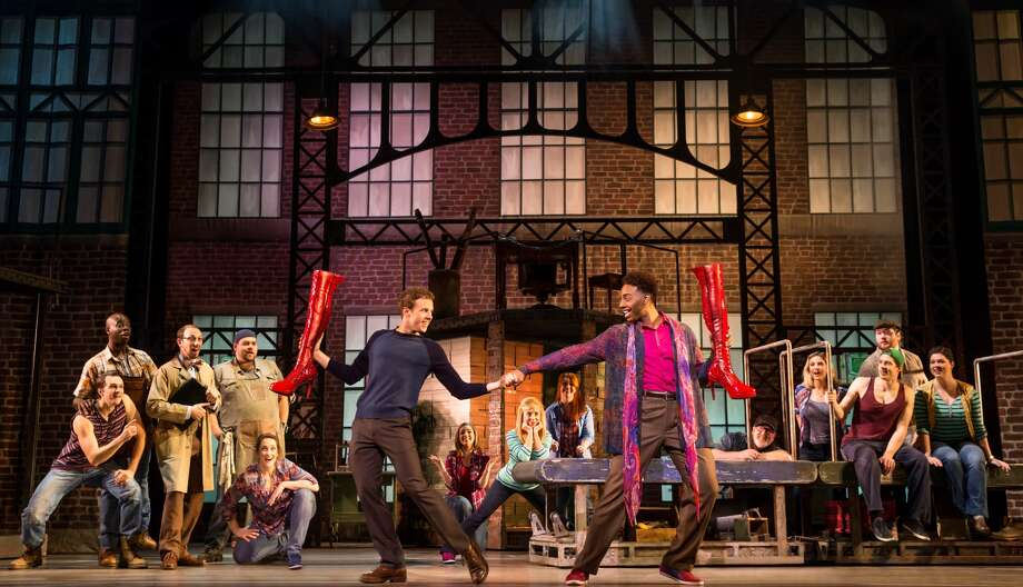 The popular musical 'Kinky Boots' will be performed at the Lutcher Theater for one night only. Courtesy photo