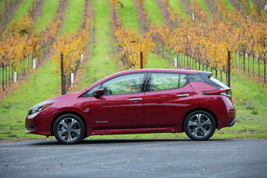 Nissan has lowered the MSRP on its new 2018 Leaf electric vehicle across the board – in some cases by up to $1,710. Photo: Nissan