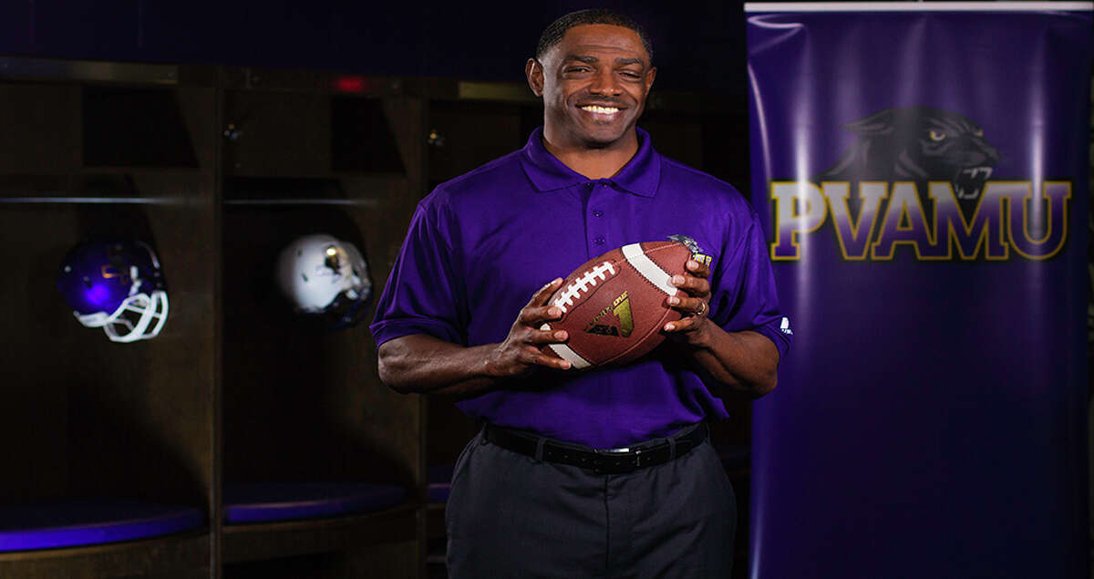 Former Grambling State offensive coordinator Eric Dooley takes over as Prairie View A&M's head coach.